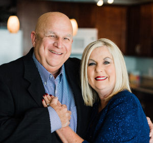 Image of the Beach Time Realty broker, Bill Thomas, and his wife Virginia Thomas